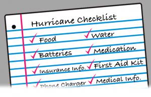 Hurricane Planning Checklist